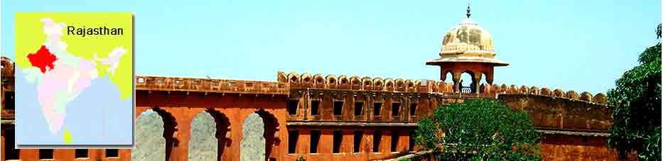 Fuerte Jaigarh de Jaipur en Viaje por India