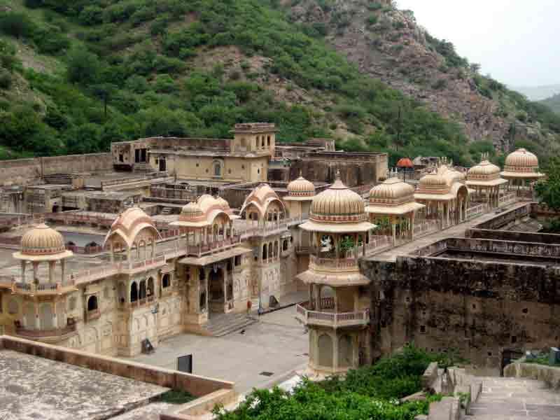 Vista del Templo Galtaji