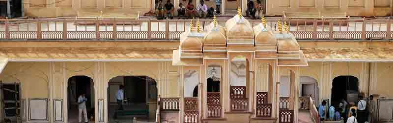 Interior Hawa Mahal