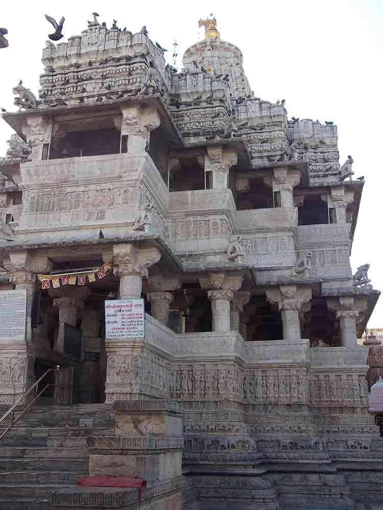 Fachada templo Jagdish
