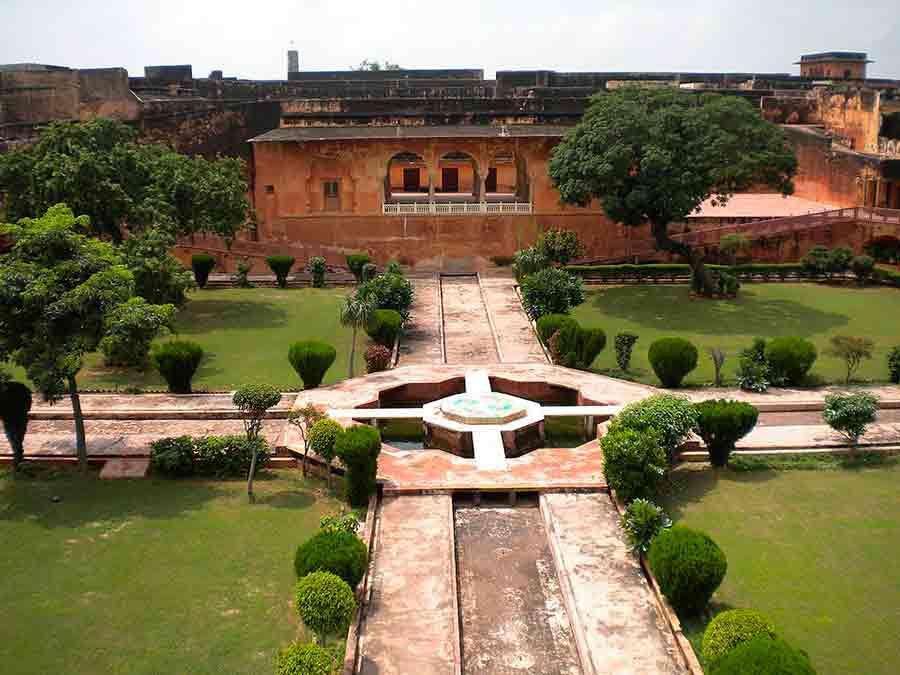 Jardín en el Fuerte Jaigarh