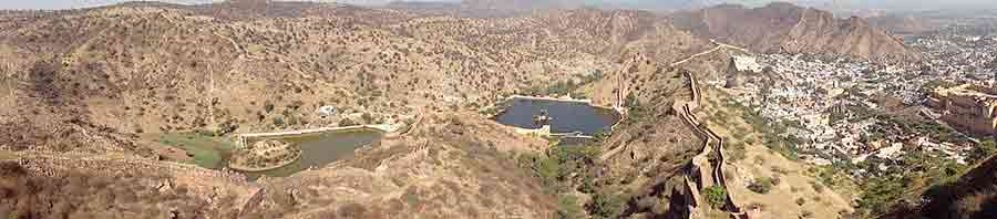 Vista desde el Fuerte Jaigarh