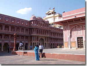 Interioir Palacio Jaipur