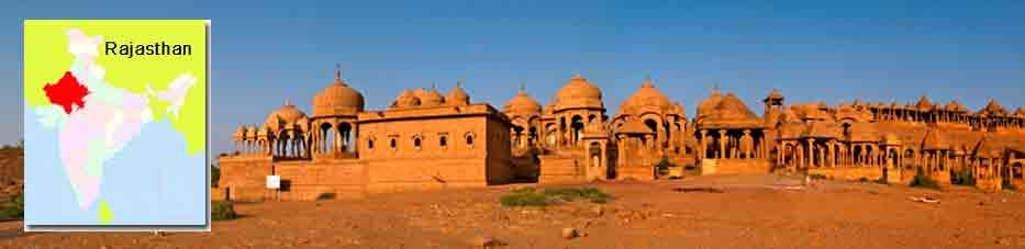 Bada Bagh, lo cenotafios reales de Jaisalmer