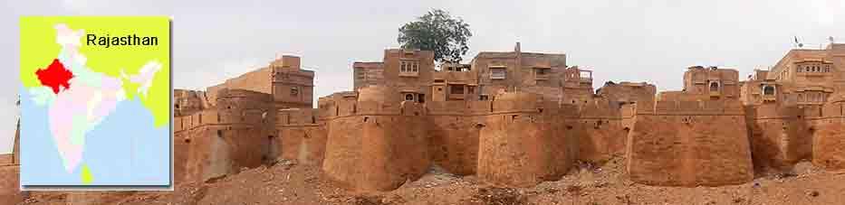 Fuerte de Jaisalmer, la fortaleza habitada de Rajastán