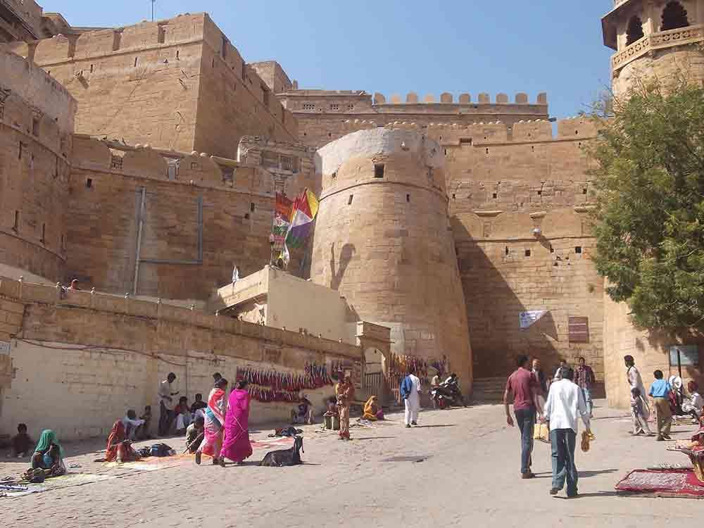 Muros del Fuerte de Jaisalmer
