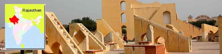 Jantar Mantar de Jaipur en Viaje por India