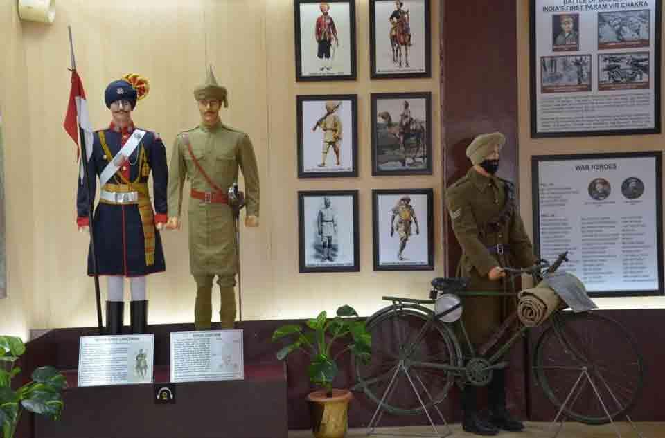 Interior Museo de Guerra Jaisalmer