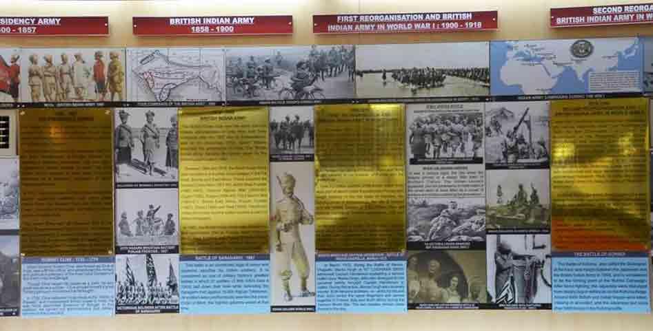 Paneles Museo Guerra Jaisalmer
