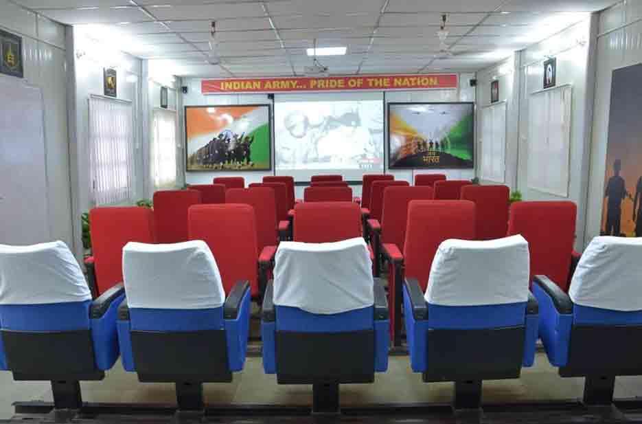 Audiovisuales Museo Guerra Jaisalmer