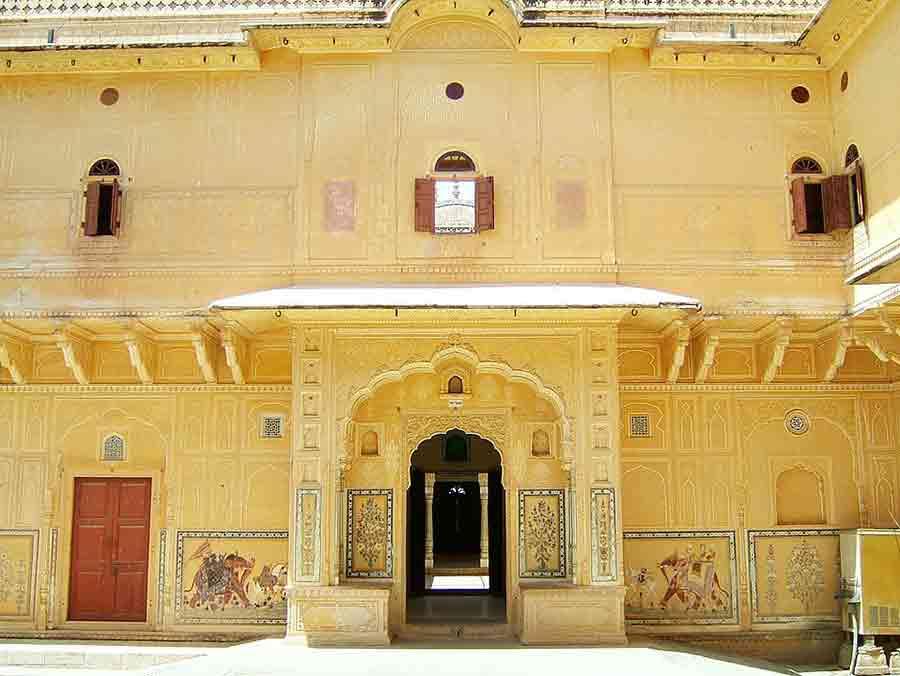 Edificio del Fuerte Nahargarh