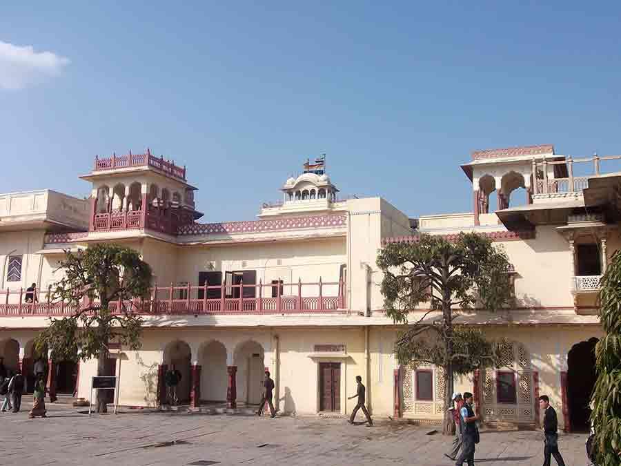 Dentro del Palacio de la Ciudad Jaipur