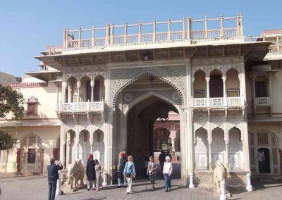Dentro del Palacio de Jaipur