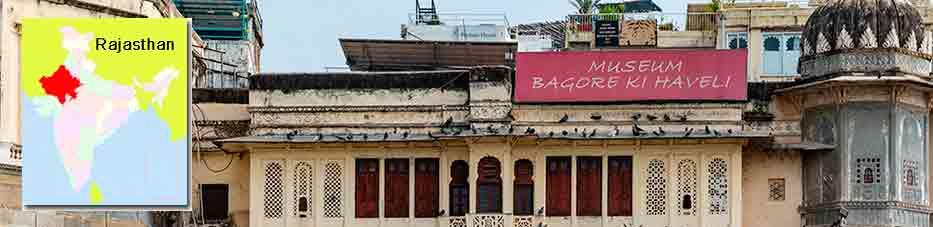 Bagore Ki Haveli en Udaipur – Rajastán