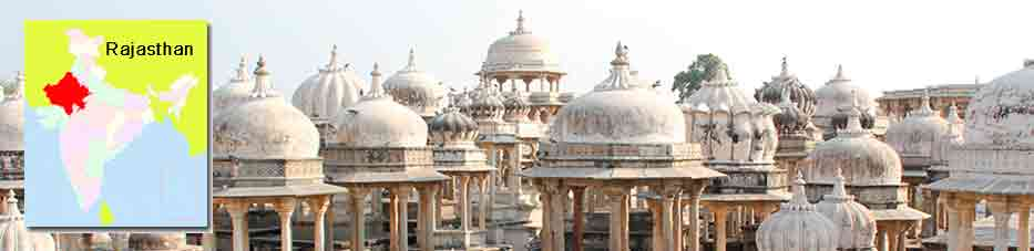 Cenotafios de Ahar cerca de Udaipur – Rajastán