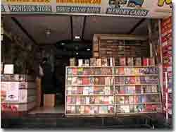 Librería en Udaipur