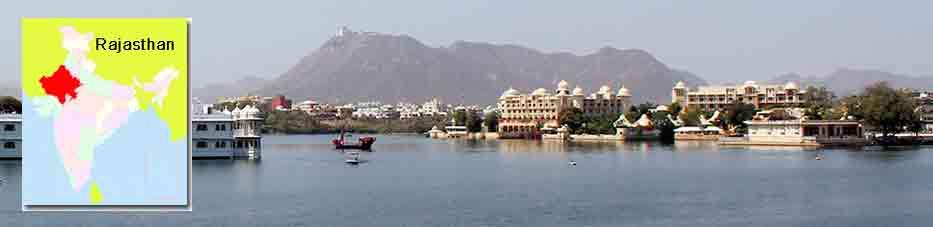 Lago Pichola en Udaipur – Rajastan