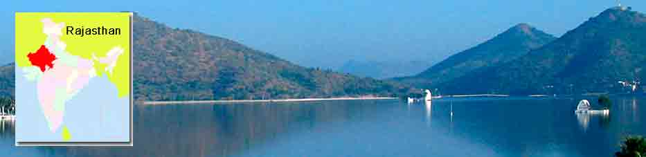 Lago Fateh Sagar en Udaipur – Rajastán