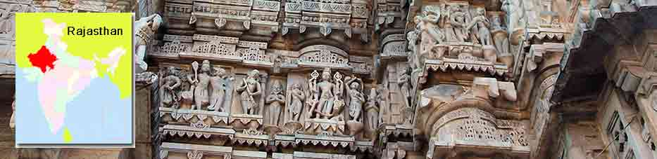 Templo Jagdish en el centro de Udaipur – Rajastán