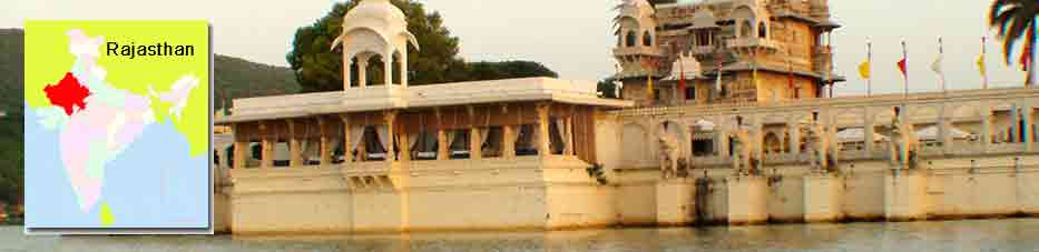 Fachada Jagmandir Udaipur