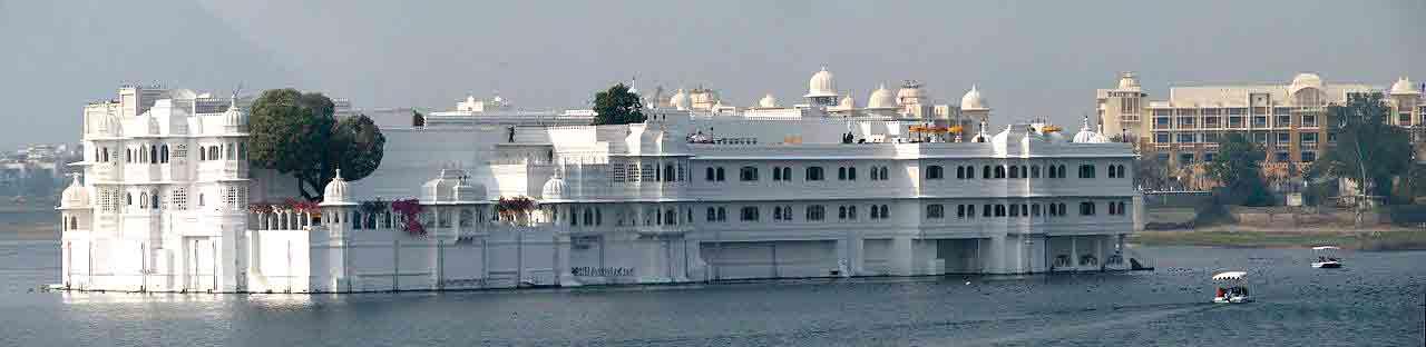 Palacio del Lago en Udaipur