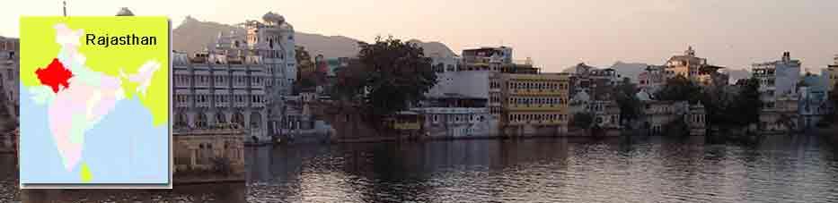 Udaipur, la ciudad de los lagos en Rajastán