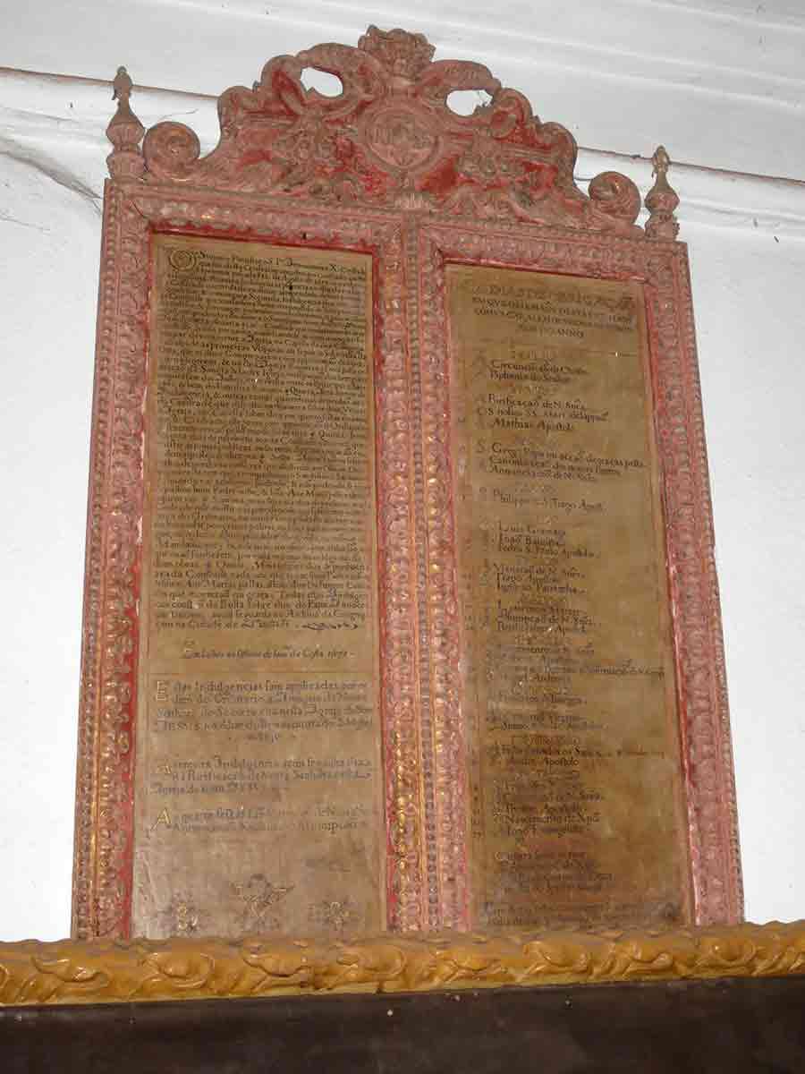 Panel en la Basílica Buen Jesús