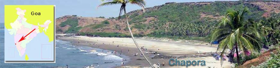 Playa Chapora en Goa