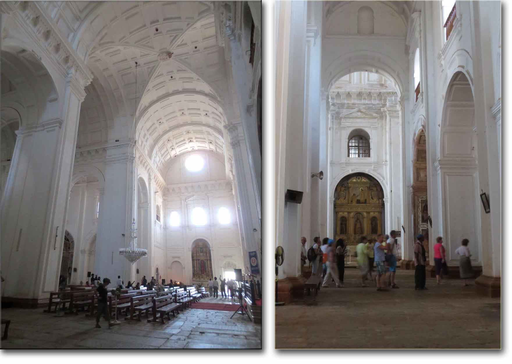 Interior Catedral de Se