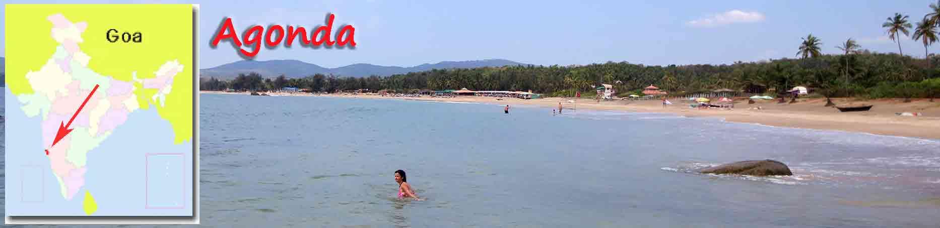 Título playa Agonda