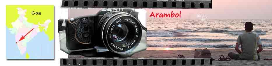 Cámara de fotos y Arambol