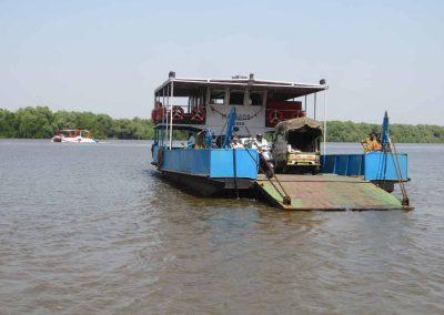 Barco en Vieja Goa