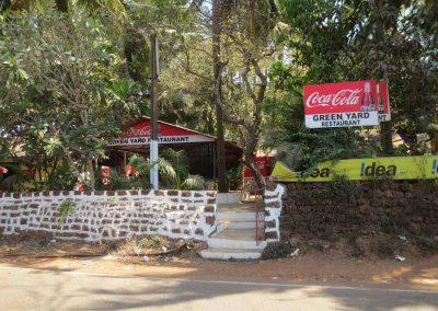 Restaurante en Vieja Goa