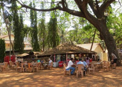 Bar en Vieja Goa