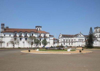 Edificios en Vieja Goa