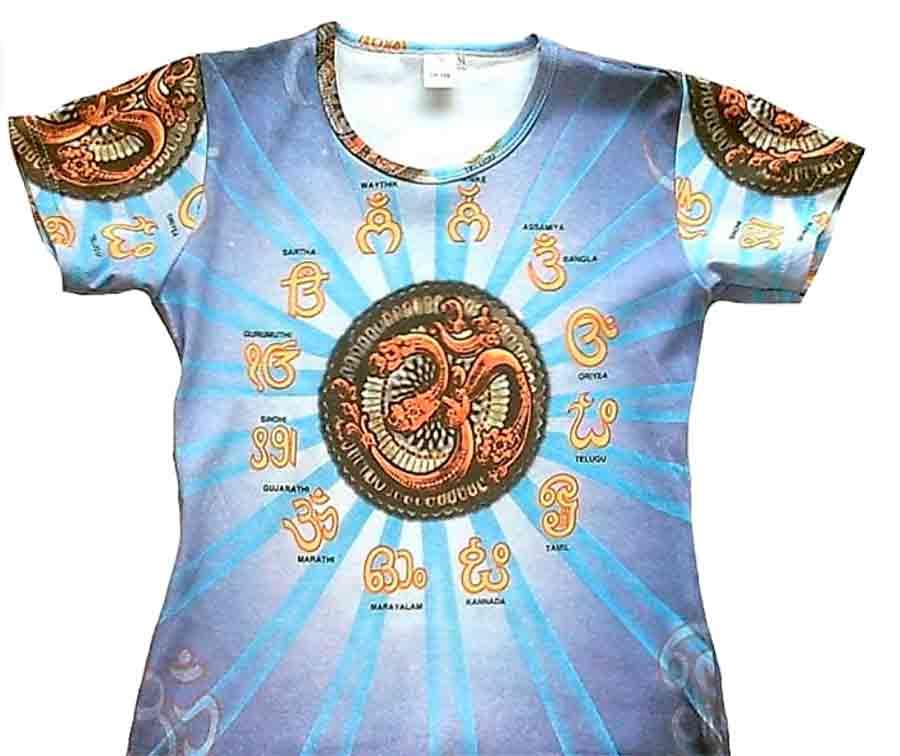 Camiseta diseño India