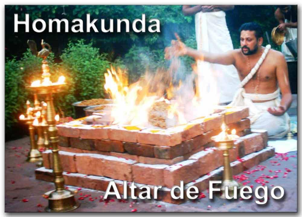 Homakunda o altar de fuego