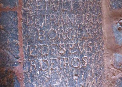 Sepultura de Francisco Borges