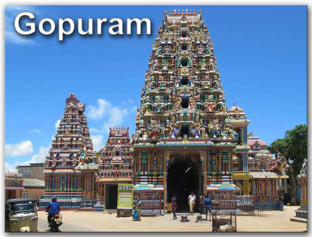 Gopuram de India