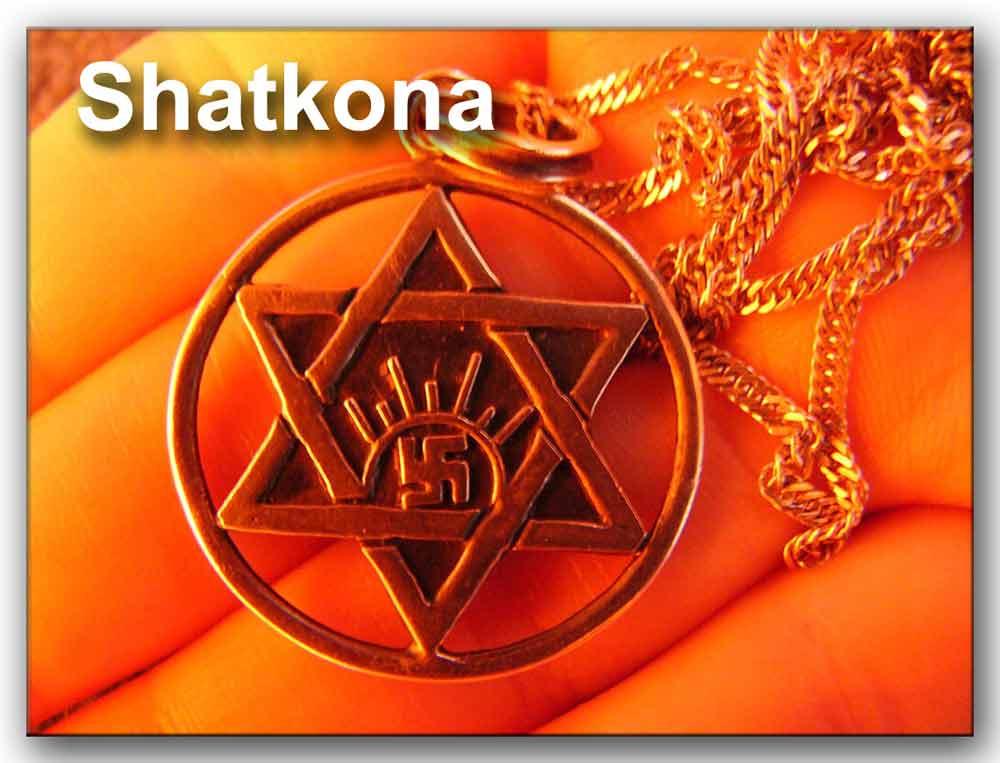 Medalla con Shatkona