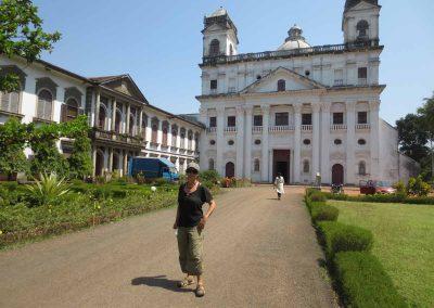 Fachada iglesia San Cayetano en Goa