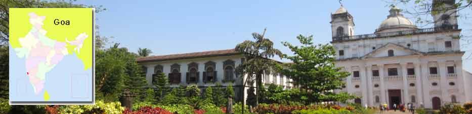 Iglesia San Cayetano en Goa