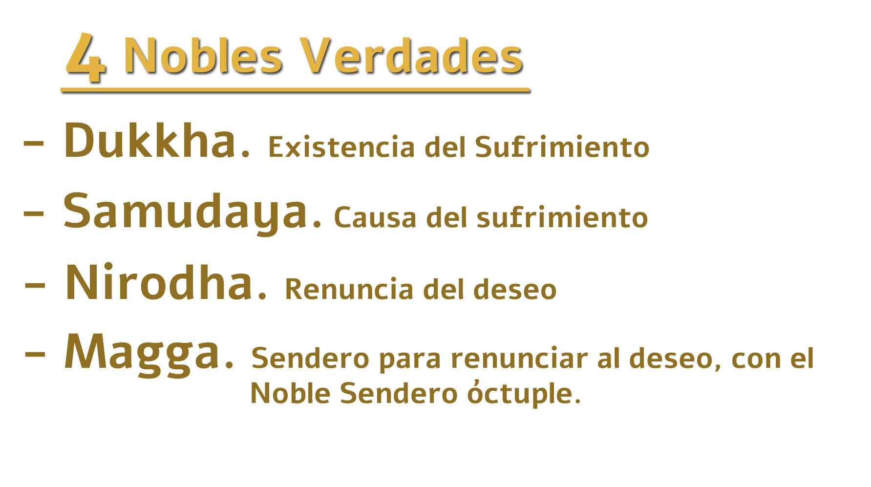 4 Nobles Verdades