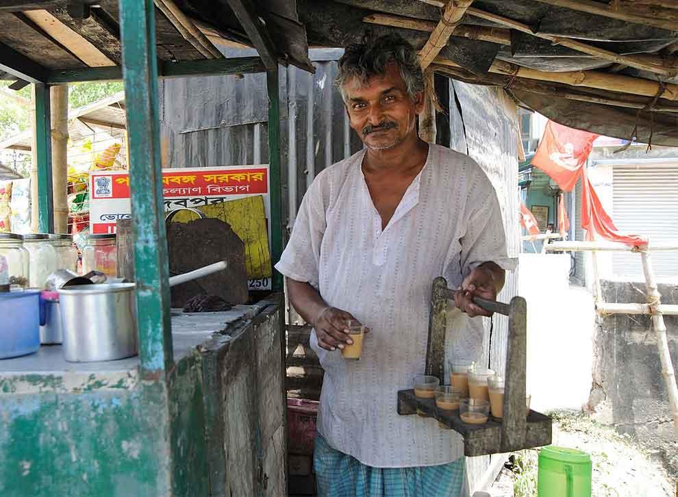 Chaiwala con chais