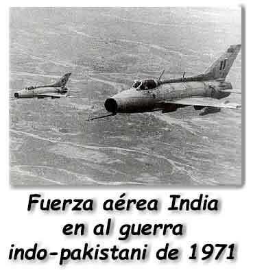 Avión en la guerra Cachemira
